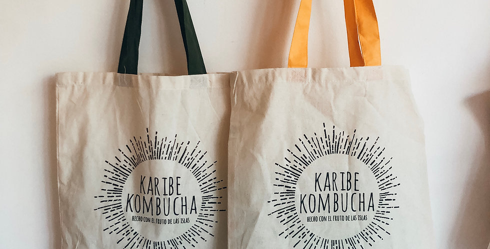 Karibe Kombucha Tote Bag