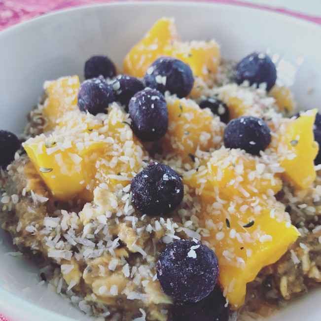 Papaya Power Oats