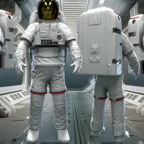 Take a space walk