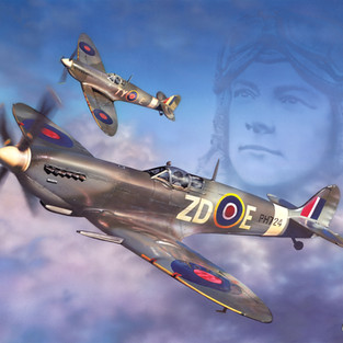 Spirit of the Spitfire Painting