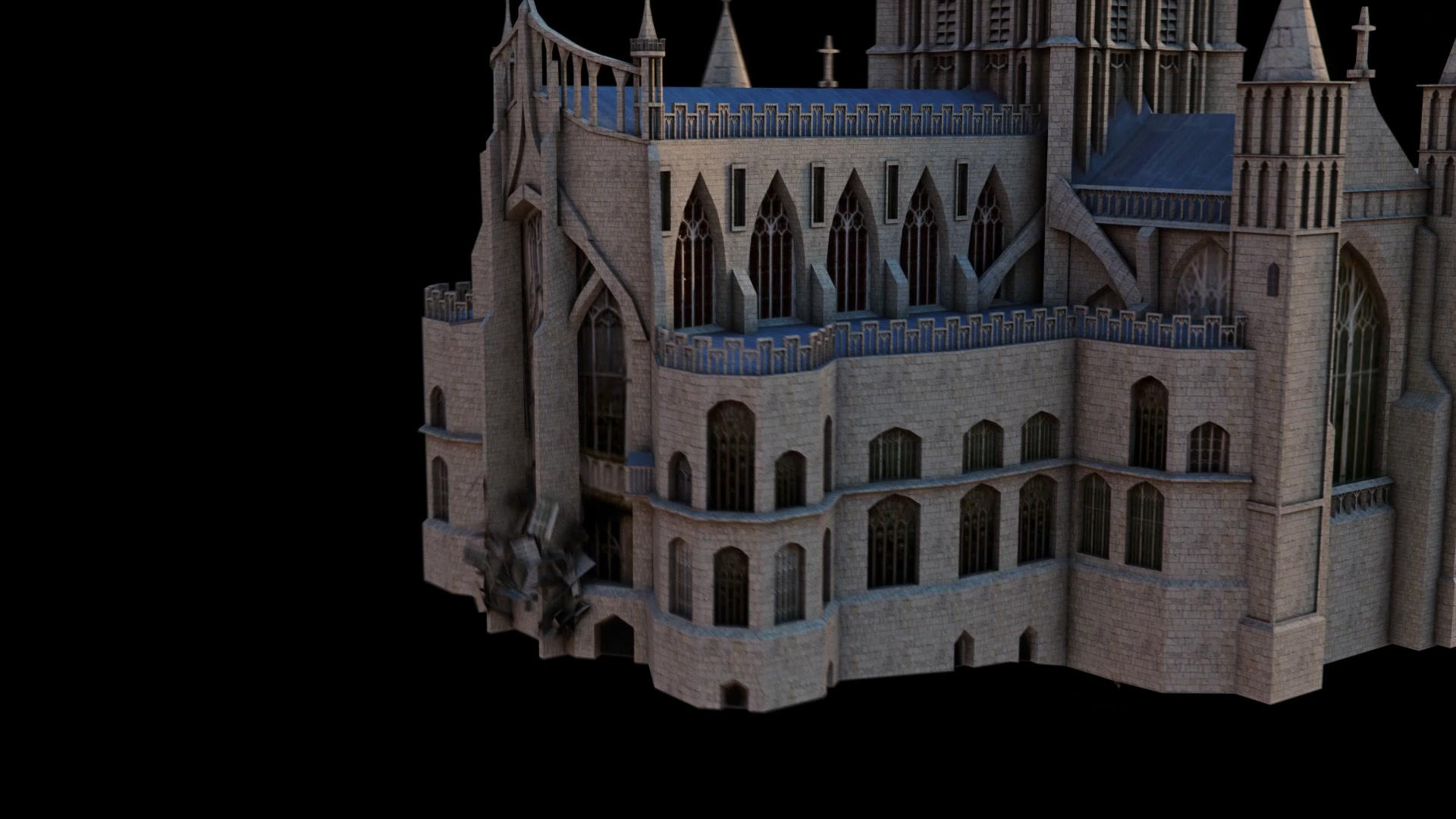 Gloster Cathedral Augmented Reality