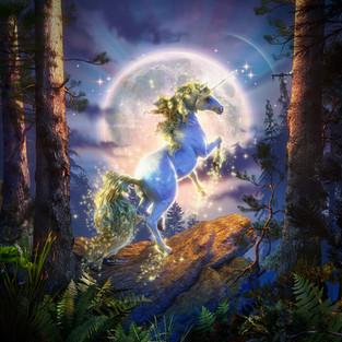 Unicorn Of The Mystical Moon