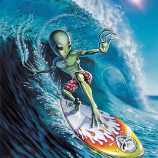 Alien Surfer