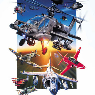Airshow Painting