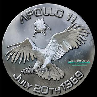 Silver Moon Apollo 11