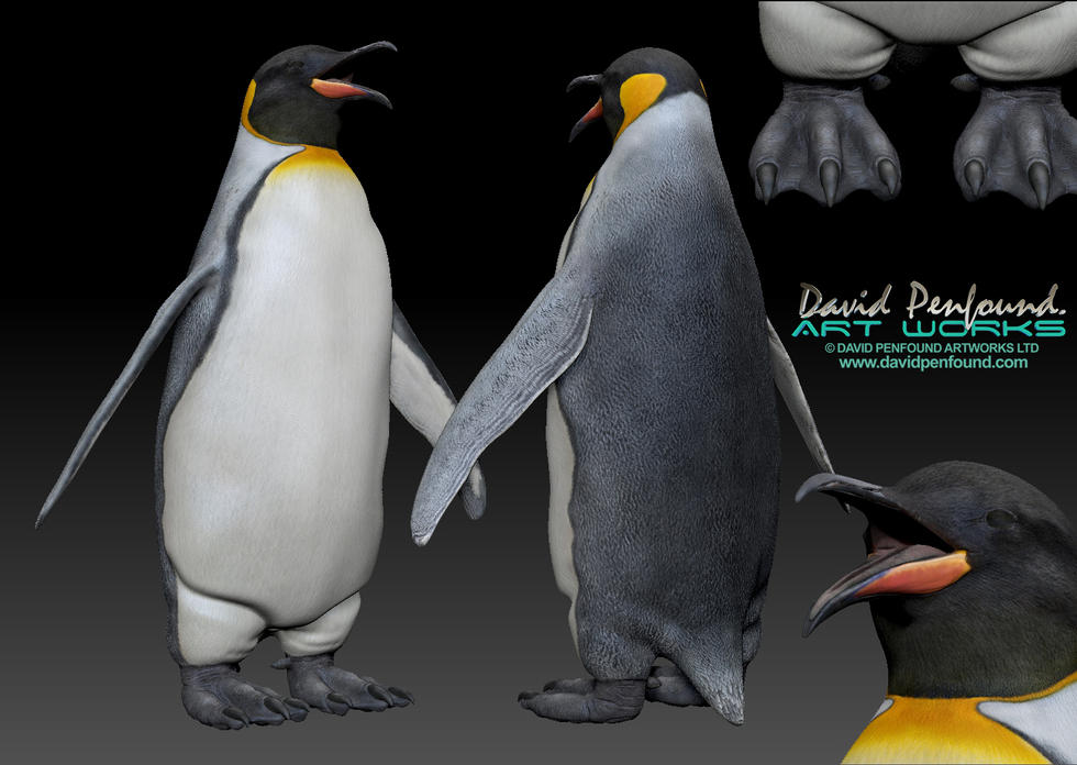 Penguin sculpt