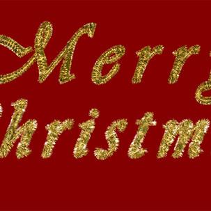 Merry Christmas Tinsel