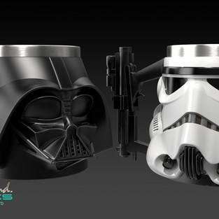 Star Wars Vader & Storm Trooper