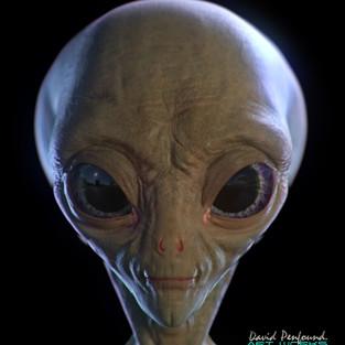 Alien Selfie