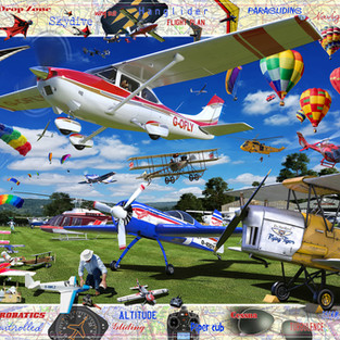 Take to the skys Puzzle