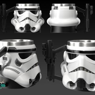 Storm Trooper Mugs Concept