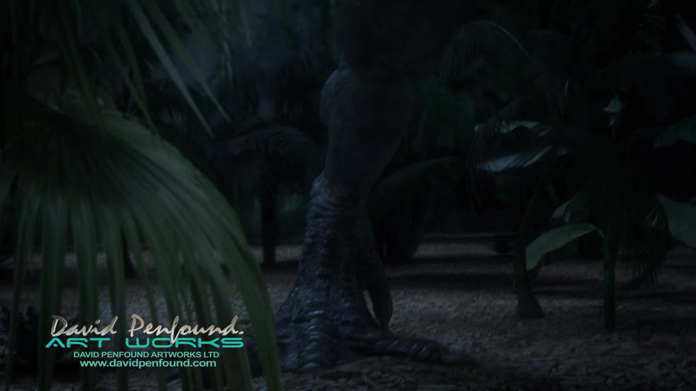 Irex Universal Parks Jurassic World Ride Animation
