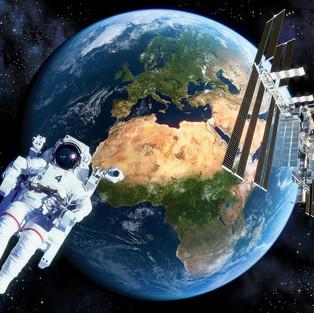 Earth ISS Astronaut