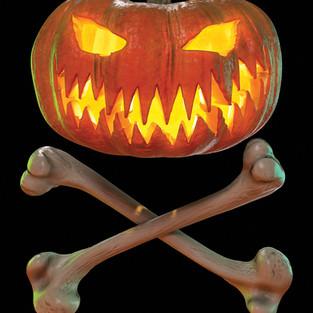 Pumpkin Crossbones