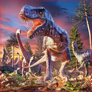 T Rex Attack!