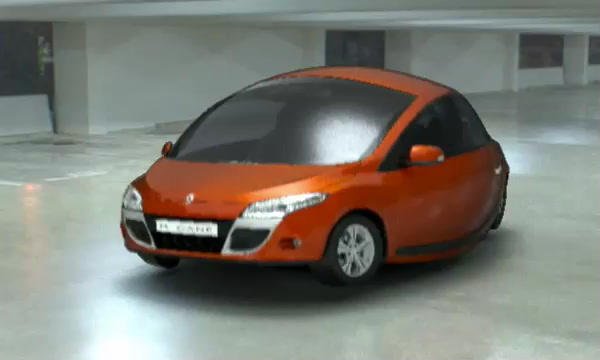 This was my first test of morphing a sphere into a car proof of concept