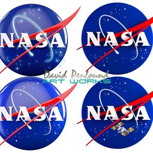 NASA 3d Logos