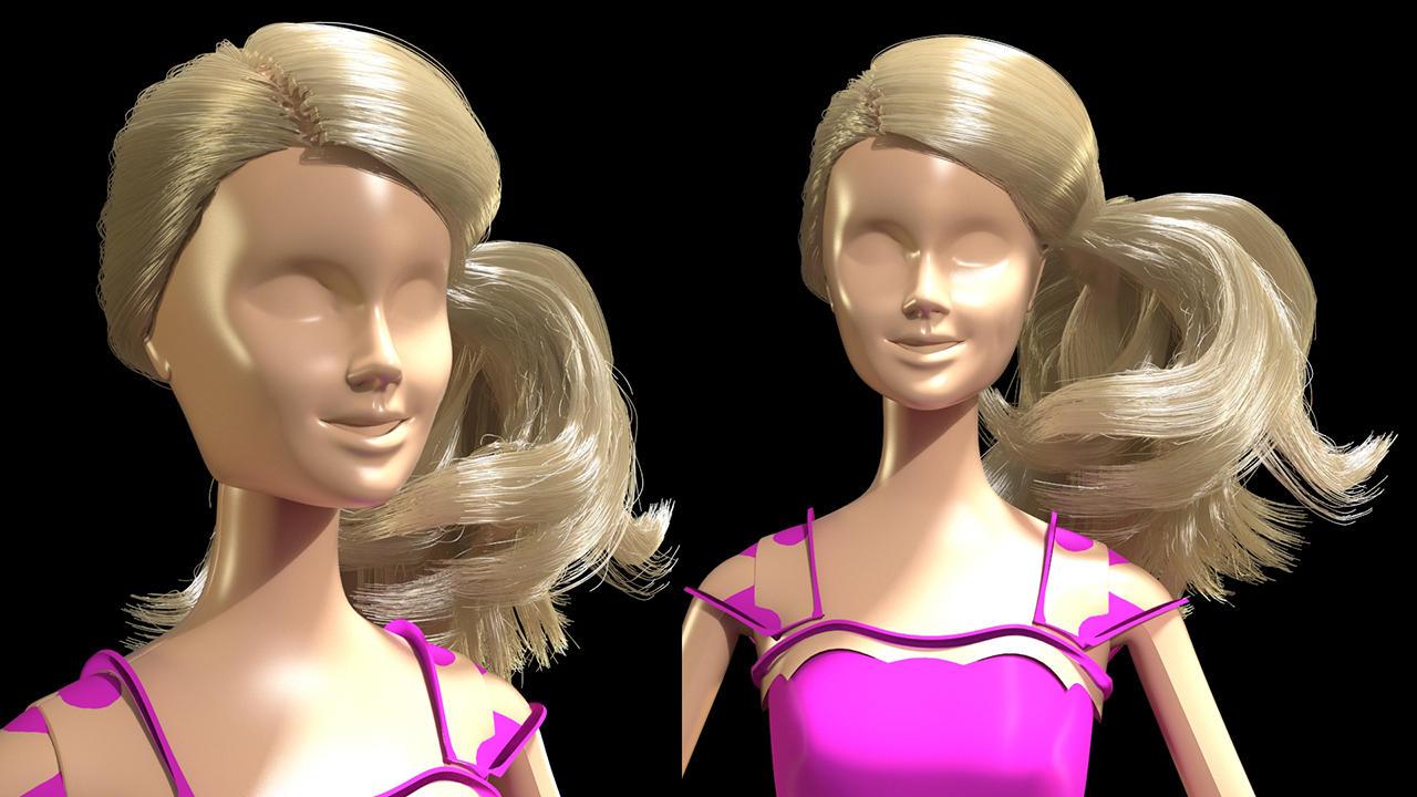Barbie wip