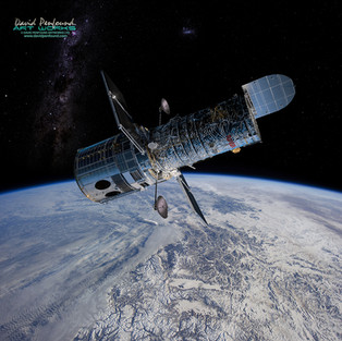 Hubble Museum Piece