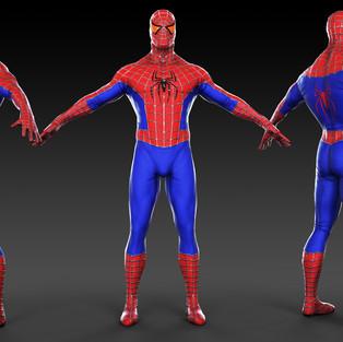 Spidy Costume Design Mk 3