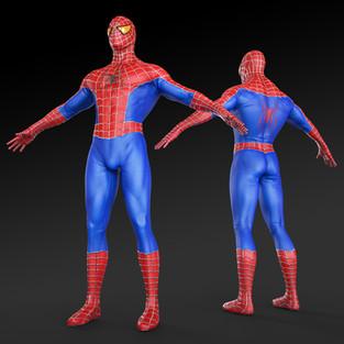 Spidey Costume Design Mk 4