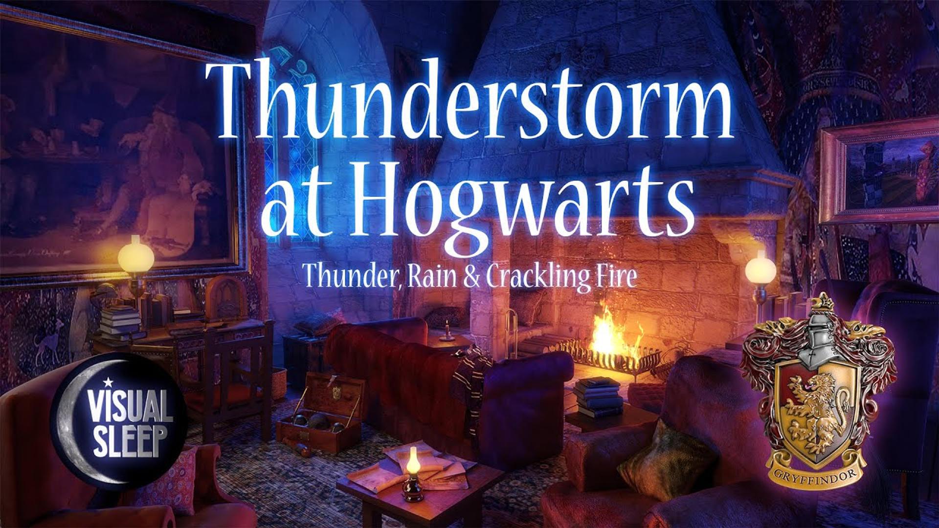 Thuderstorm at Hogwarts