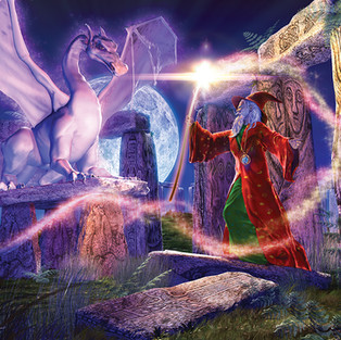Wizard And The Moon Dragon