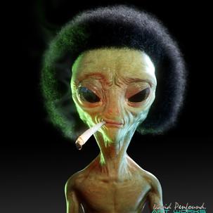Afro Alien