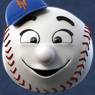 NY Mets Head