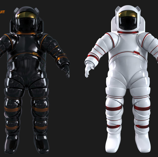 hardshell space suit