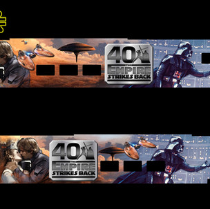 40th Anniversary Empire Strikes Back Train Sleeve