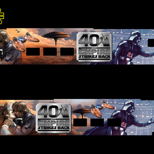 40th Anniversary Empire Strikes Back Train Sleeve