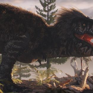 Hairy T Rex