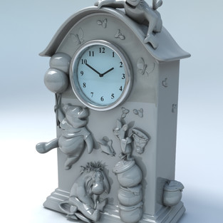 Bradford Exchange - Disney Clock