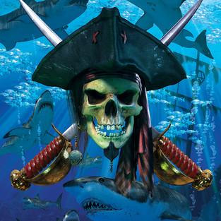 Skull & Cutlace sharks