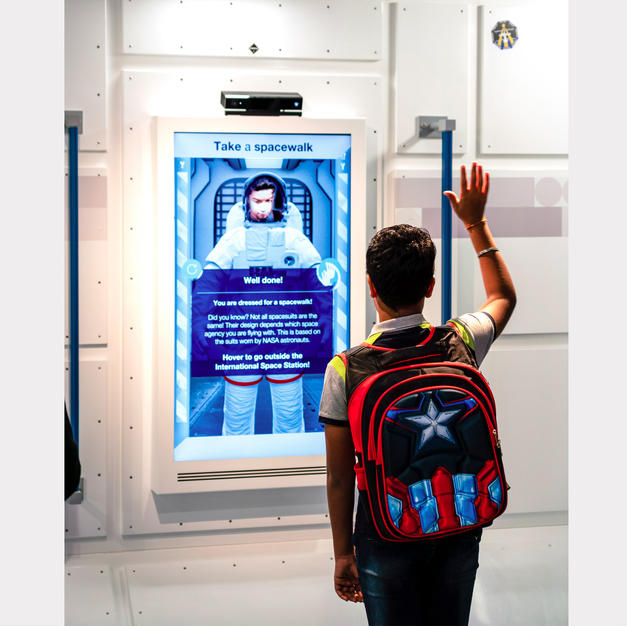 Take a space walk Exhibit
