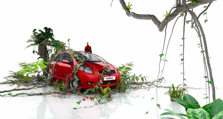 Yaris Environment ad