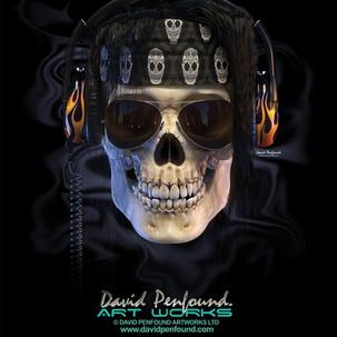 Skull Rocker-Black