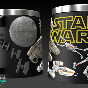 Star Wars Mugs Concept