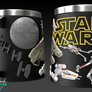 Star Wars Mugs Concept