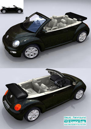 VW Beetlw Model for Launch 2000?