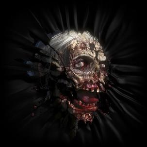 Zombie head-02