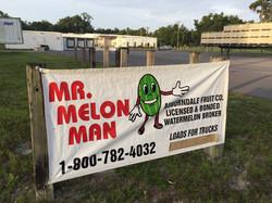Mr. Melon Man Watermelons!