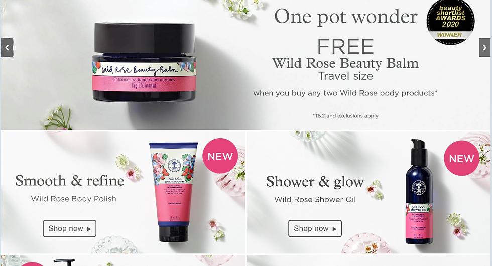 Neal's Yard Organic cosmetic clean skin