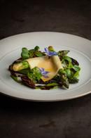 Green Asparagus / Confit Yolk / Morels / Comte