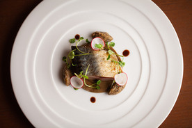 Mackerel / Coffee / Eggplant