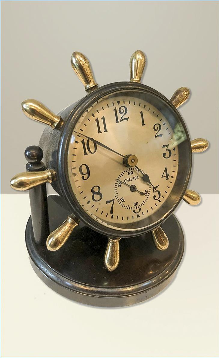 Chelsea Ship Desk Clock