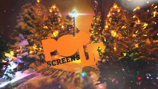 Pop Up Screens Christmas