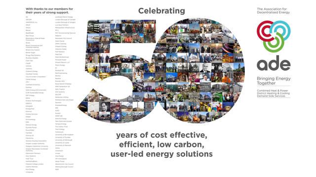 Celebrating 50 Years of Decentralised Energy