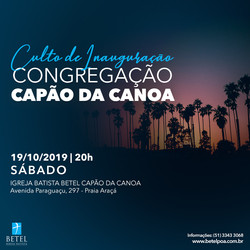 Inauguração Capão da Canoa